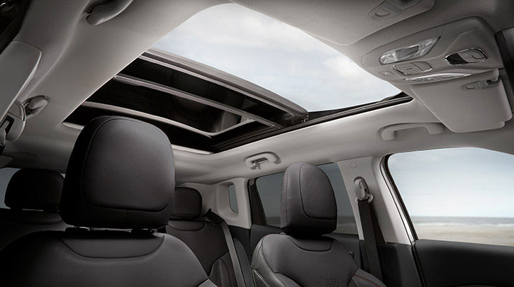 Brand New Jeep Compass –Panoramic Roof & Dark Leather Interior