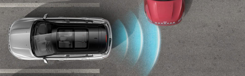 New Jeep Compass –Park Assist System