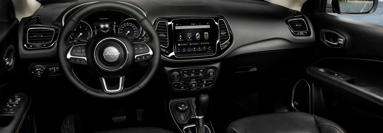 New Jeep Compass Technology In Car Infotainment Jeep Uk