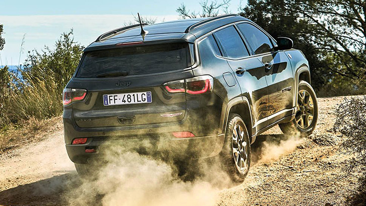 New Jeep Compass –4x4 & Off-Road Capability