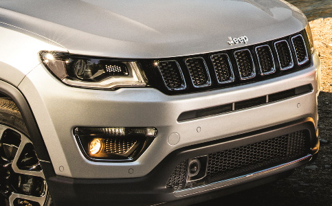 Headlights & Fog Lights on New Jeep Compass SUV