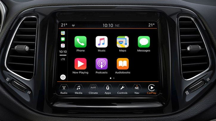New Jeep Compass –Premium Car Infotainment System
