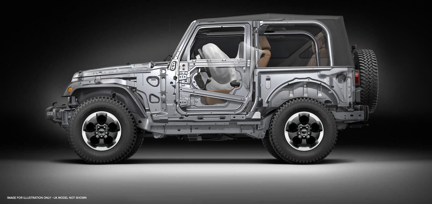 Jeep Wrangler  Safety Features  Jeep UK